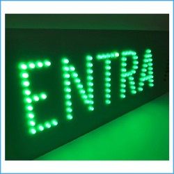 Led Luminoso Entra